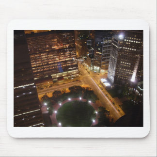Minneapolis Minnesota Night in the City Mouse Pad