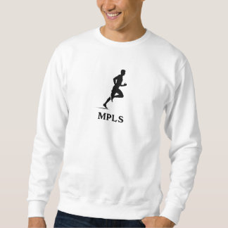 Minneapolis Minnesota Running MPLS Sweatshirt
