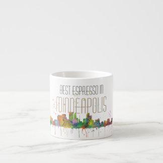 MINNEAPOLIS, MINNESOTA SKYLINE - Espresso Mug