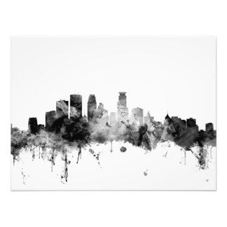 Minneapolis Minnesota Skyline Photograph