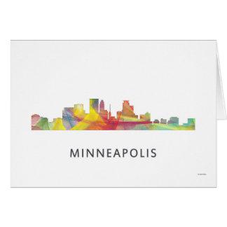 MINNEAPOLIS, MINNESOTA SKYLINE WB1 - CARD