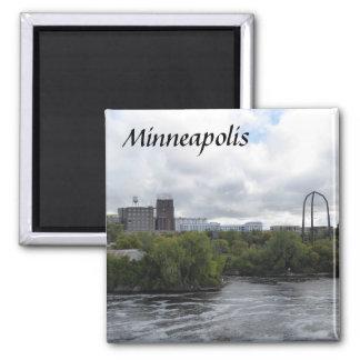 Minneapolis Mississippi River Photo Magnet