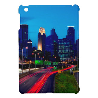 Minneapolis Night Skyline Case For The iPad Mini