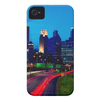 Minneapolis Night Skyline Case-Mate iPhone 4 Cases