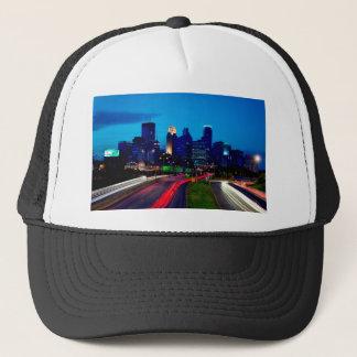 Minneapolis Night Skyline Trucker Hat