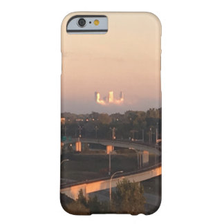 """Minneapolis Skyline"" above the Fog Barely There iPhone 6 Case"