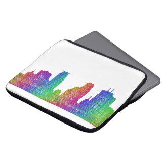 Minneapolis skyline computer sleeves