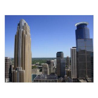 Minneapolis Skyline from the Foshay Tower Postcard