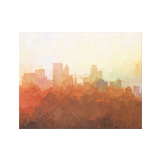 MINNEAPOLIS SKYLINE-In the Clouds Canvas