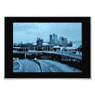Minneapolis Skyline Photo Print