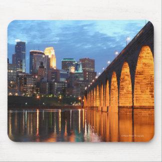 Minneapolis Stone Arch Bridge Mouse Pad
