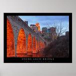 Minneapolis Stone Arch Bridge Poster