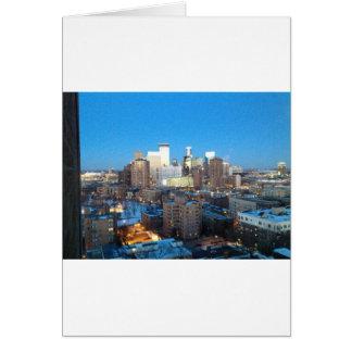 Minneapolis Winter Card