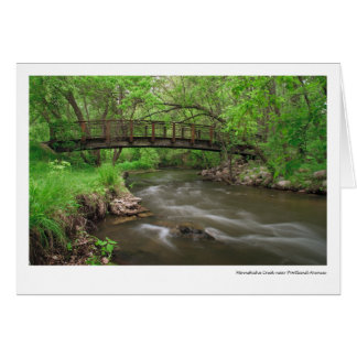 Minnehaha Creek near Portland Avenue Card
