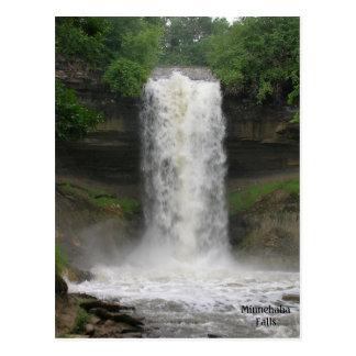 Minnehaha Falls2 Postcard