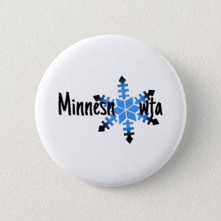 Minnesnowta Funny 2 Inch Round Button