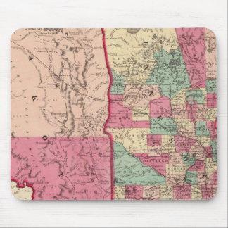 Minnesota and Dakota Mouse Pad