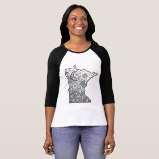 Minnesota art t shirt
