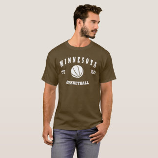 Minnesota Basketball Retro Logo T-Shirt