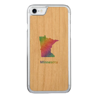 Minnesota Carved iPhone 8/7 Case
