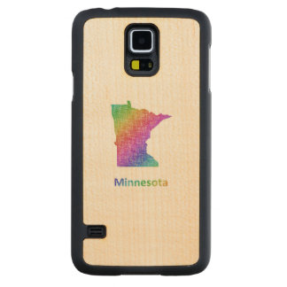 Minnesota Carved Maple Galaxy S5 Case