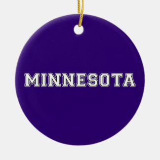 Minnesota Ceramic Ornament