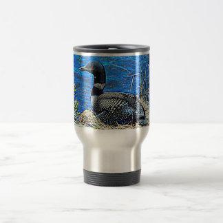 Minnesota Common Loon Travel Mug