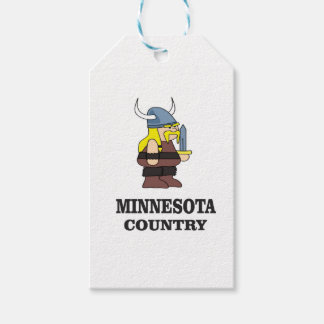 Minnesota country gift tags