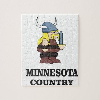 Minnesota country jigsaw puzzle