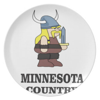 Minnesota country plate