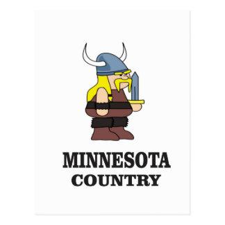 Minnesota country postcard