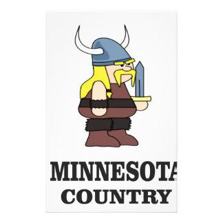 Minnesota country stationery