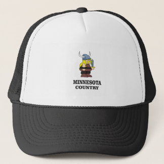 Minnesota country trucker hat