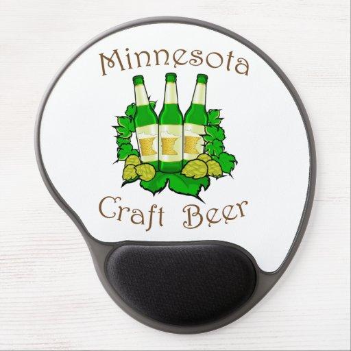 Minnesota Craft Beer Gel Mousepad