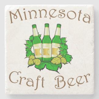 Minnesota Craft Beer Marble Coaster Stone Coaster