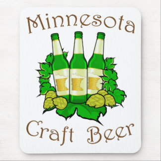 Minnesota Craft Beer Mousepad