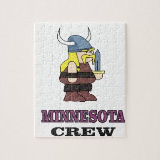 Minnesota Crew Jigsaw Puzzle