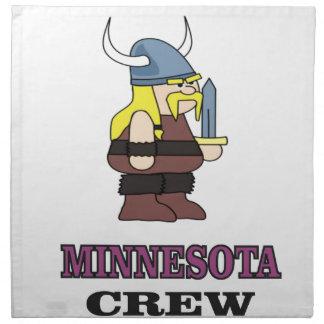 Minnesota Crew Napkin