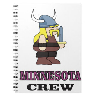 Minnesota Crew Notebook