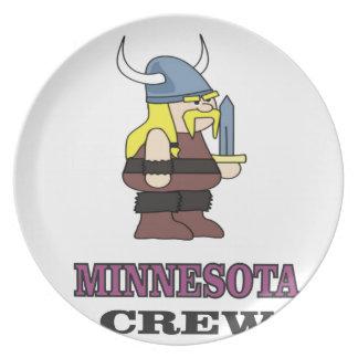 Minnesota Crew Plate