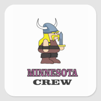 Minnesota Crew Square Sticker