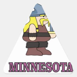 Minnesota Crew Triangle Sticker