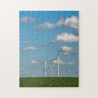 Minnesota, Dexter, Grand Meadow Wind Farm 2 Jigsaw Puzzle