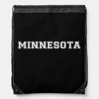 Minnesota Drawstring Bag