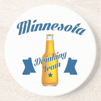 Minnesota Drinking team Coaster