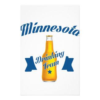 Minnesota Drinking team Stationery