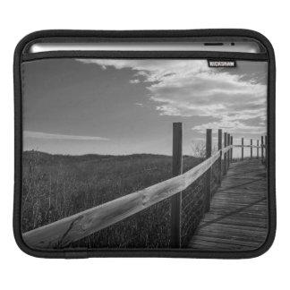 Minnesota, Duluth, Park Point, Boardwalk iPad Sleeves