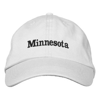 Minnesota Embroidered Hat