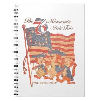 Minnesota Fair 1976 Notebook