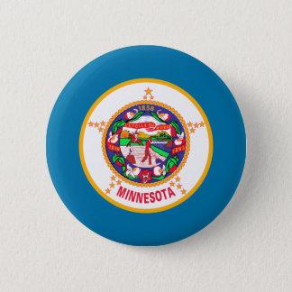 Minnesota Flag 2 Inch Round Button